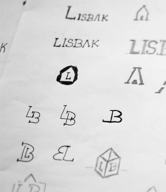 Logotipo Lisbak por Drool estudio creativo - 5