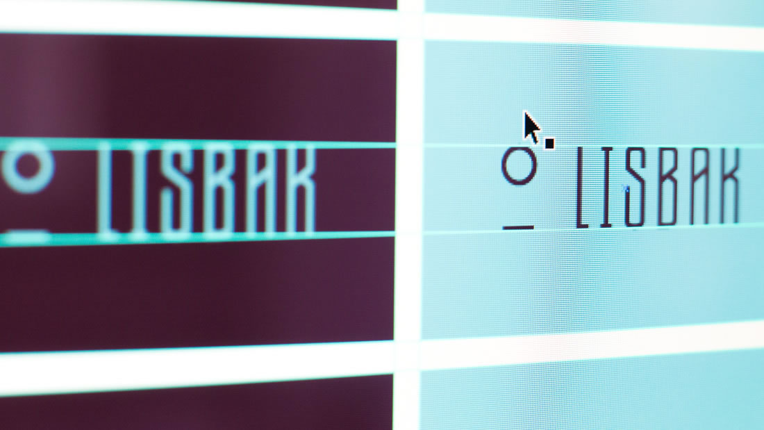 Logotipo Lisbak por Drool estudio creativo - 7