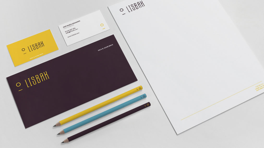 Branding Lisbak por Drool estudio creativo - 2