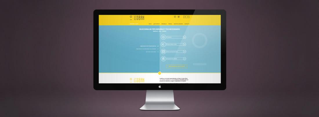Diseño web Lisbak por Drool estudio creativo - 1