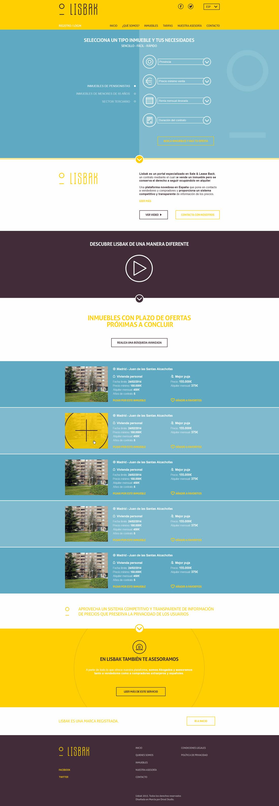 Diseño web Lisbak por Drool estudio creativo - 7
