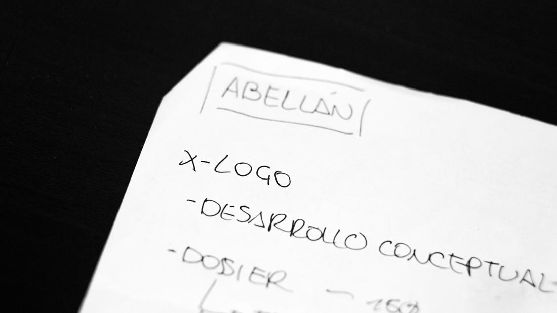 Logotipo Abellán por Drool estudio creativo - 3