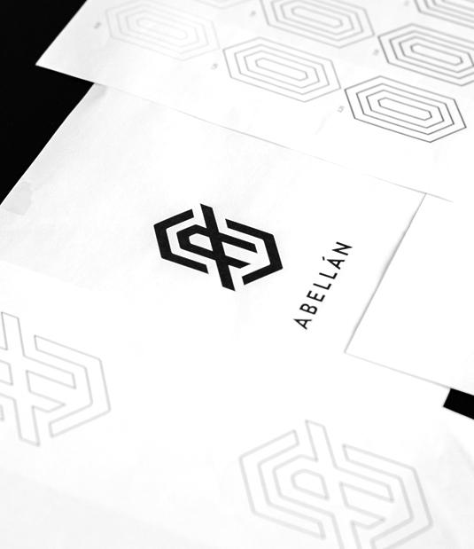 Logotipo Abellán por Drool estudio creativo - 5