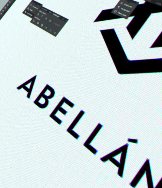 Logotipo Abellán por Drool estudio creativo - 8