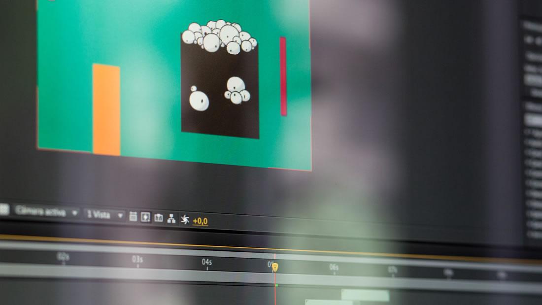 Ejemplo de proceso de creación de un motion graphics