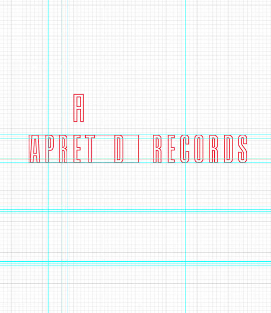 Logotipo Apretada Records por Drool estudio creativo - 9