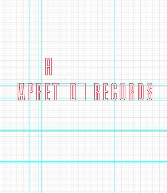 Logotipo Apretada Records por Drool estudio creativo - 9