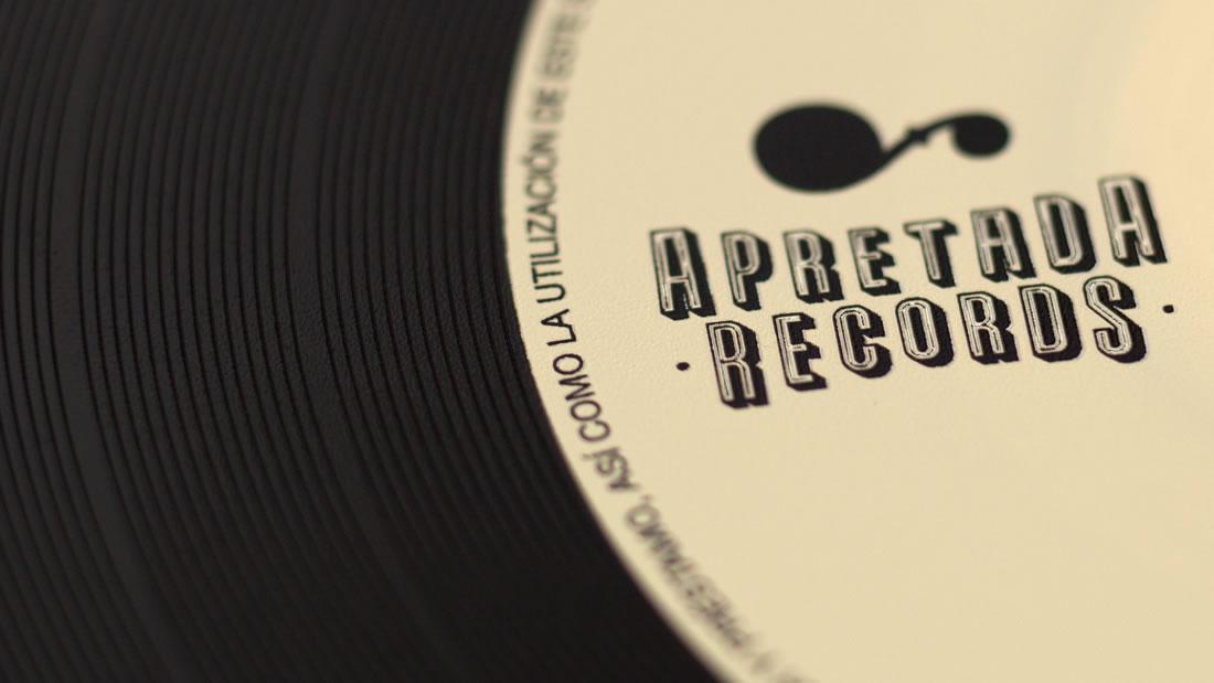 Branding Apretada Records por Drool estudio creativo - 3