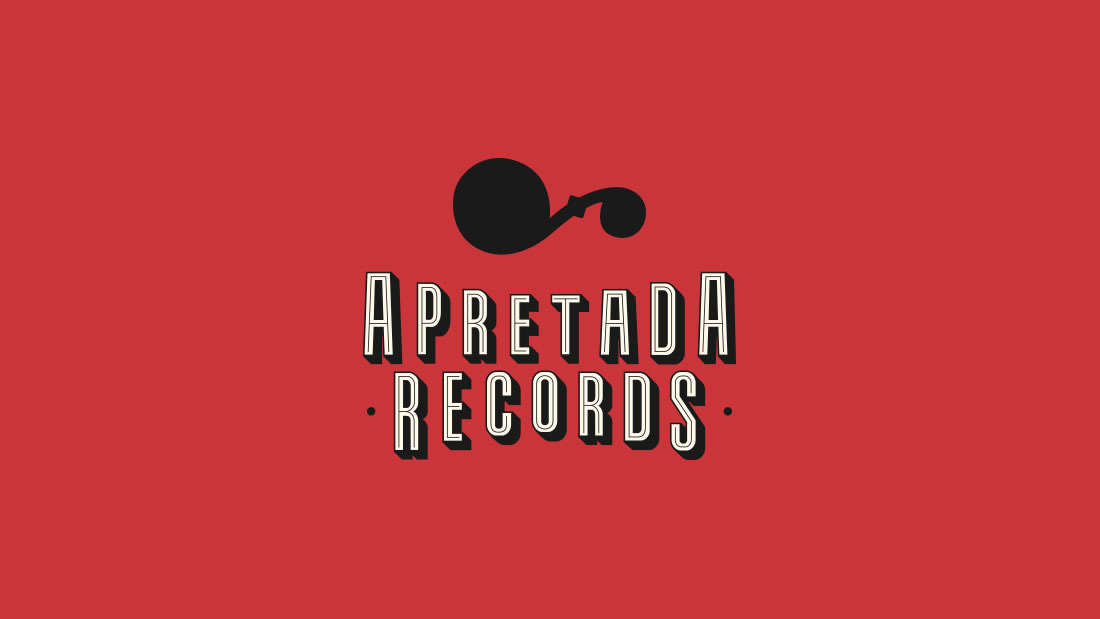 Logotipo Apretada Records por Drool estudio creativo - 1