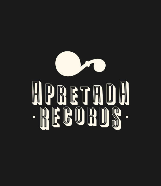 Logotipo Apretada Records por Drool estudio creativo - 3