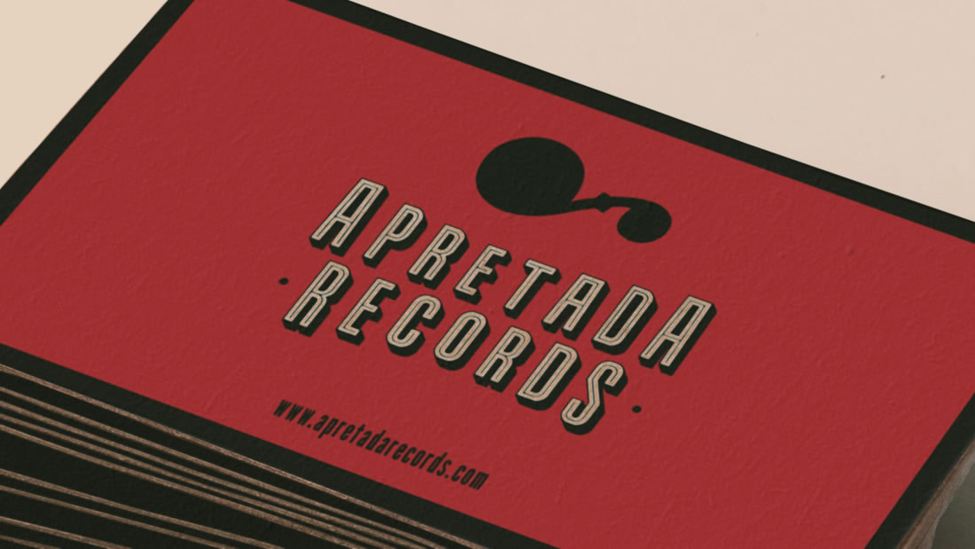 Branding Apretada Records por Drool estudio creativo - 2