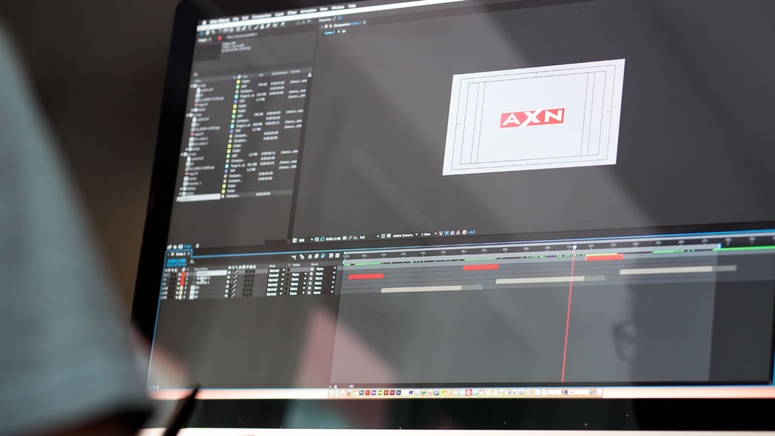 Motion graphics AXN por Drool estudio creativo - 14