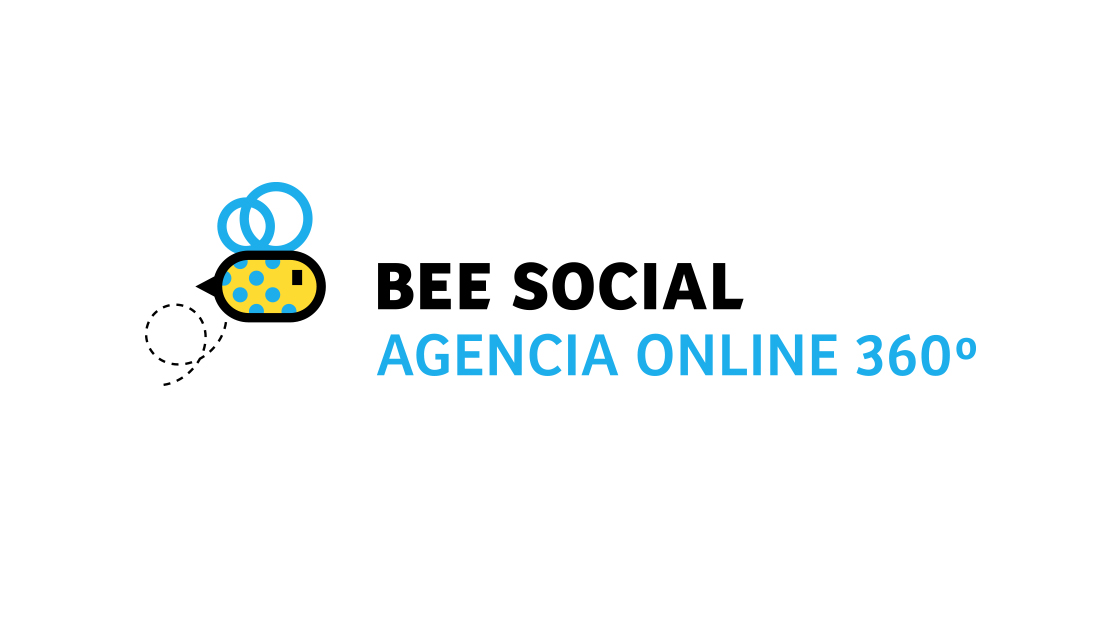 Logotipo Bee Social por Drool estudio creativo - 1