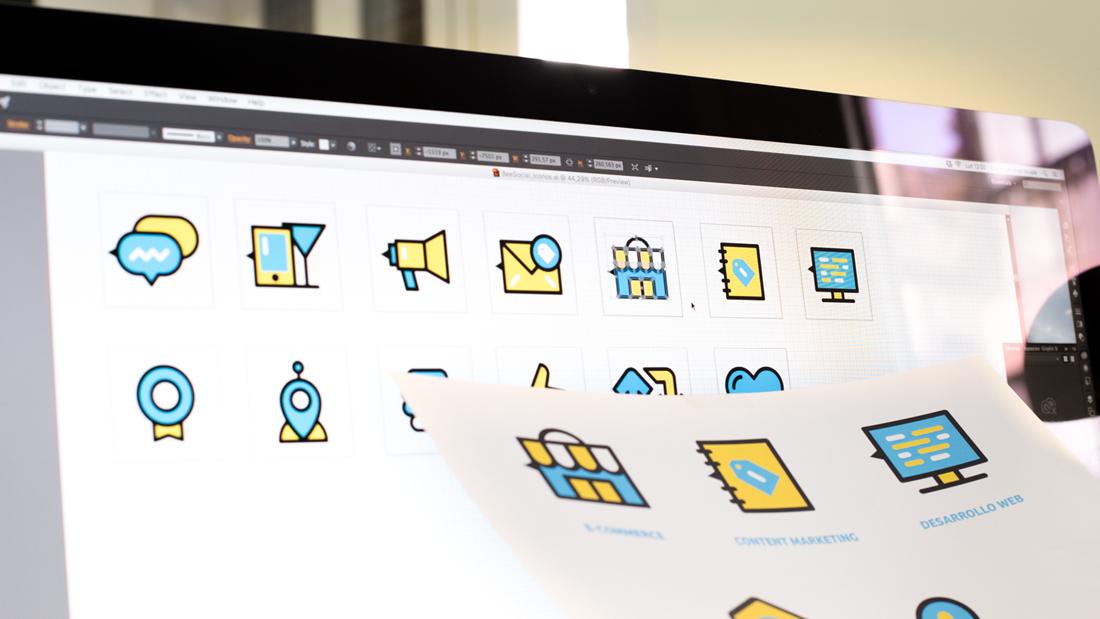 Diseño web Bee Social por Drool estudio creativo - 7