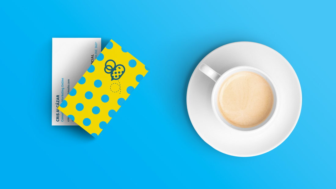 Identidad corporativa Bee Social por Drool estudio creativo - 1