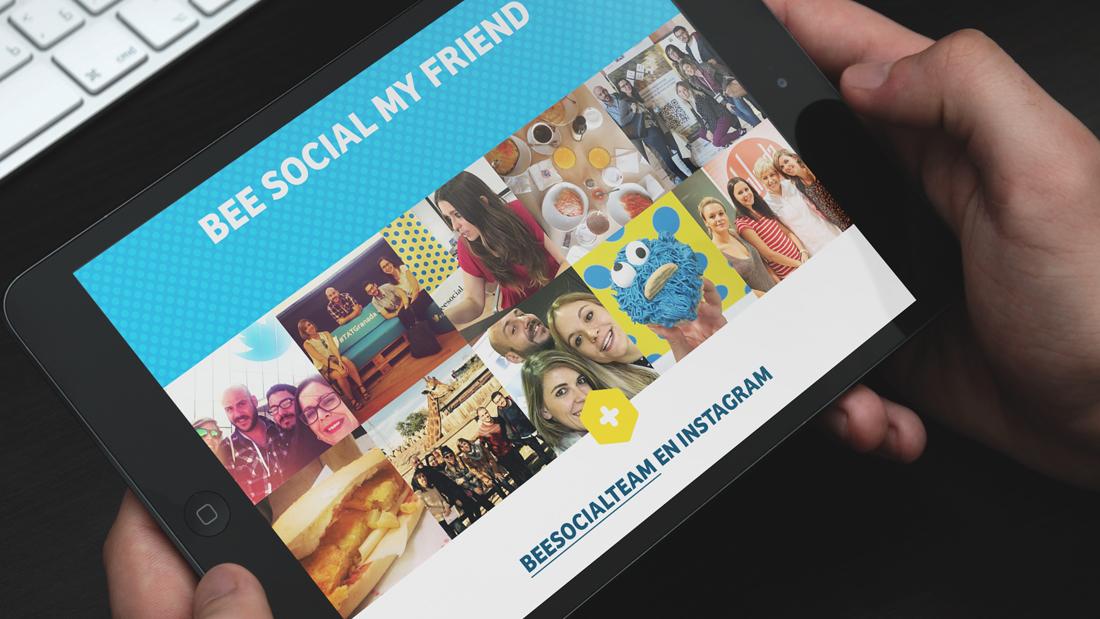 Diseño web Bee Social por Drool estudio creativo - 5