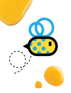 Bee Social Proyecto de Branding de marca - Drool Studio