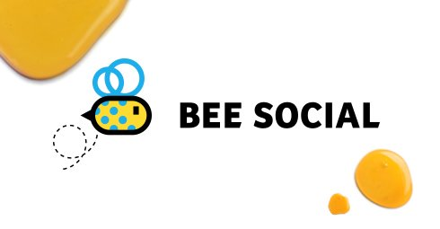 Bee Social - Branding / Web design by Drool Studio