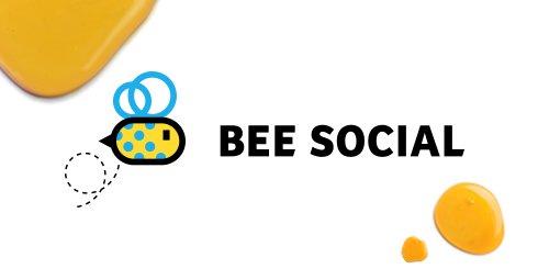 Bee Social - Branding / Diseño web por Drool Studio
