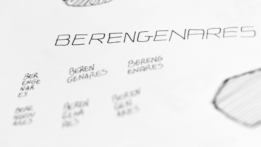 Logotipo Berengenares por Drool estudio creativo - 6