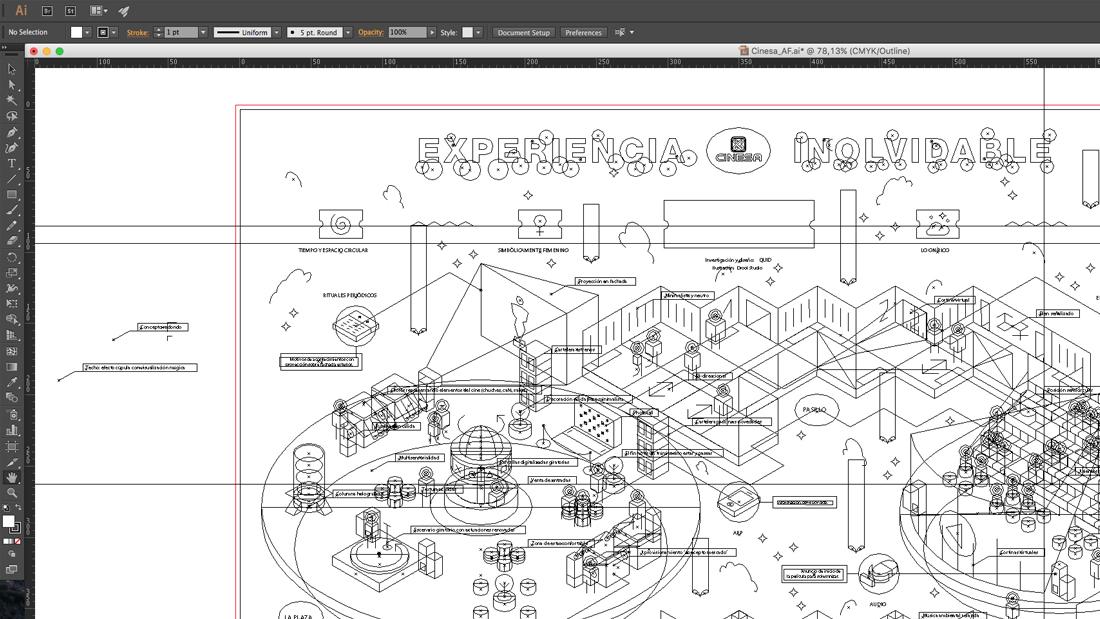 Infografía Cinesa por Drool estudio creativo - 30