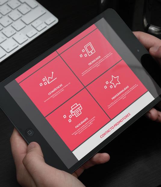 Diseño web Compralaentrada por Drool estudio creativo - 2