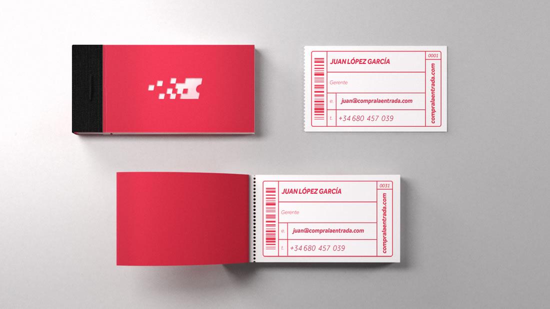 Branding Compralaentrada por Drool estudio creativo - 3