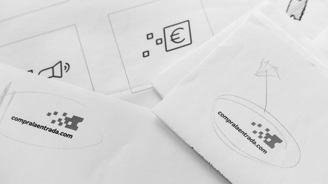 Branding Compralaentrada por Drool estudio creativo - 7