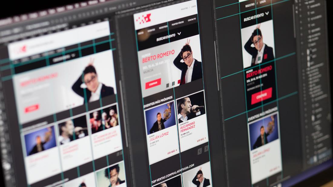 Diseño web Compralaentrada por Drool estudio creativo - 6