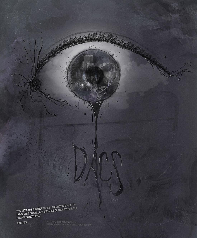 Ilustración Dacs por Drool estudio creativo - 1