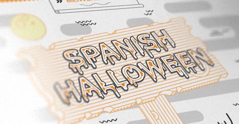 Spanish halloween - Infographic by Drool Studio