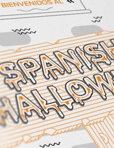 Spanish Halloween - Infografía por Drool Studio