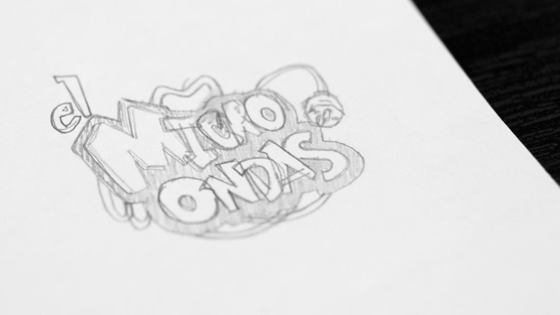 Logotipo El Microondas por Drool estudio creativo - 10
