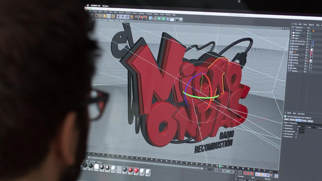 Logotipo El Microondas por Drool estudio creativo - 15