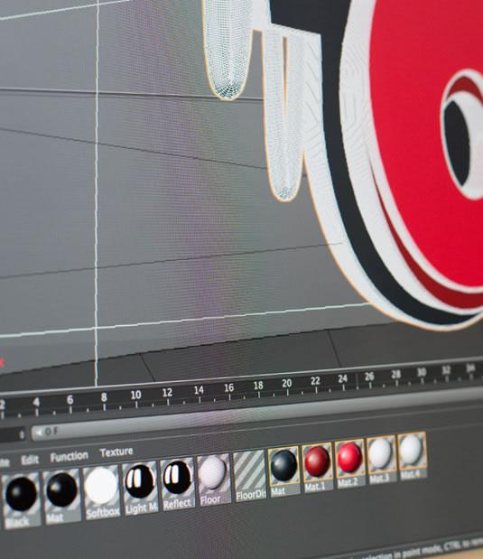 Logotipo El Microondas por Drool estudio creativo - 17