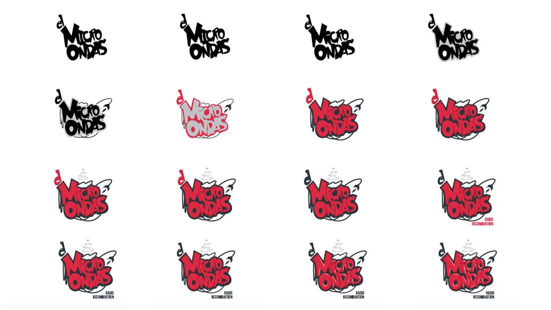 Logotipo El Microondas por Drool estudio creativo - 13