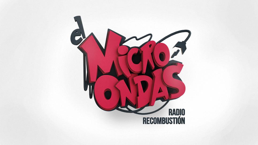 Logotipo El Microondas por Drool estudio creativo - 1