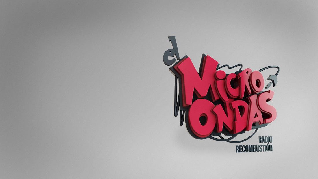 Logotipo El Microondas por Drool estudio creativo - 6