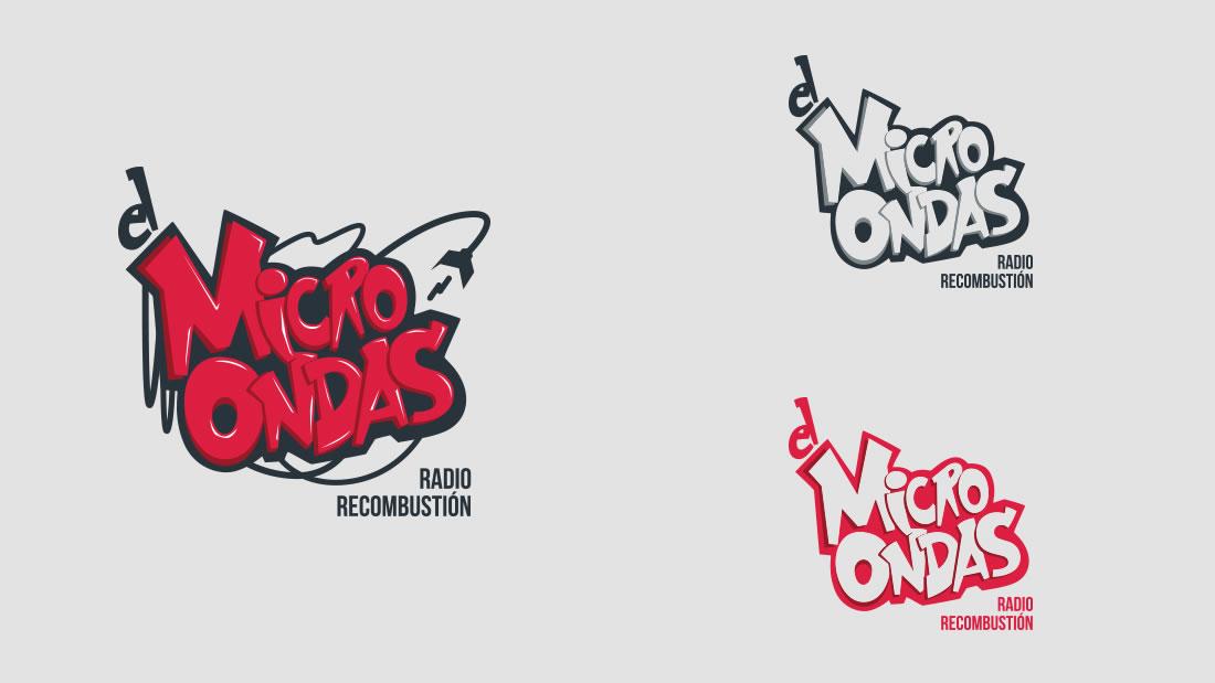 Logotipo El Microondas por Drool estudio creativo - 7