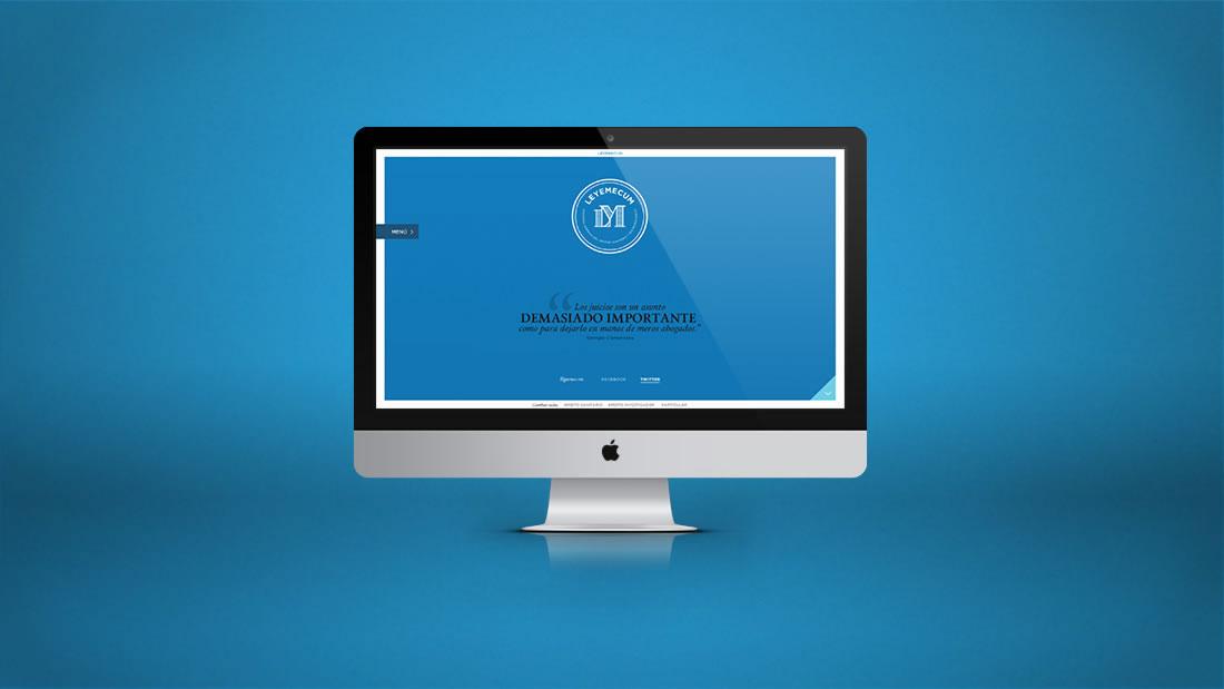 Diseño web Leyemecum por Drool estudio creativo - 1
