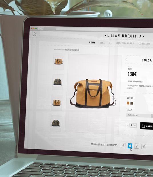 Diseño web Lilian Urquieta por Drool estudio creativo - 1