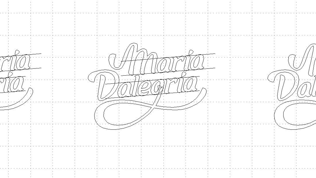 Logotipo Maria Dalegria por Drool estudio creativo - 3