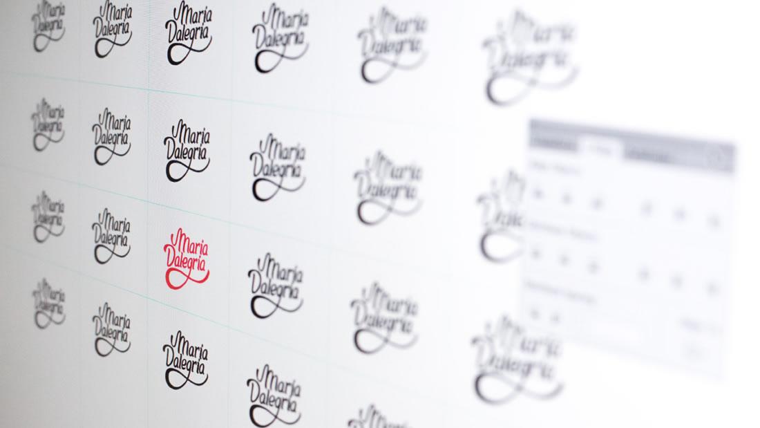 Logotipo Maria Dalegria por Drool estudio creativo - 6