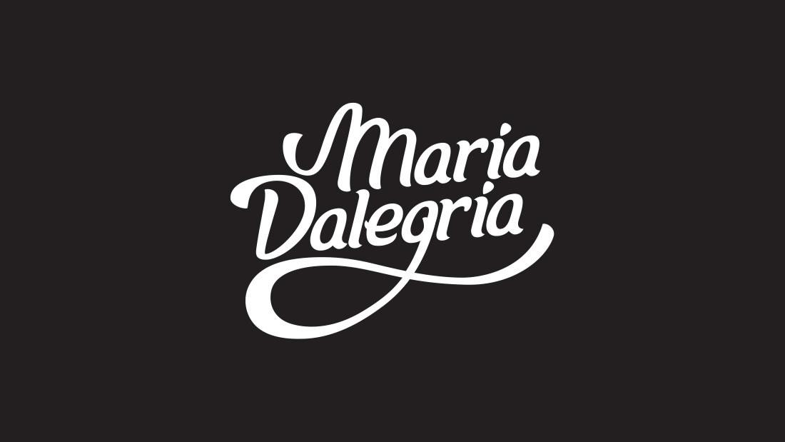 Logotipo Maria Dalegria por Drool estudio creativo - 1