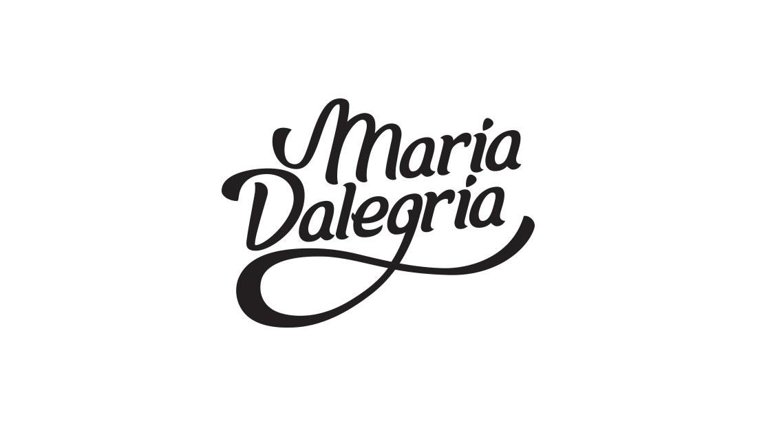 Logotipo Maria Dalegria por Drool estudio creativo - 2