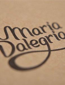 Maria Dalegria - Branding por Drool Studio