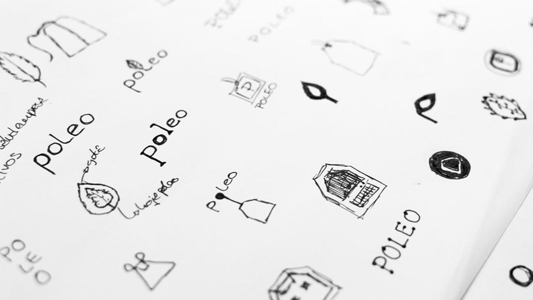 Logotipo Poleo por Drool estudio creativo - 4