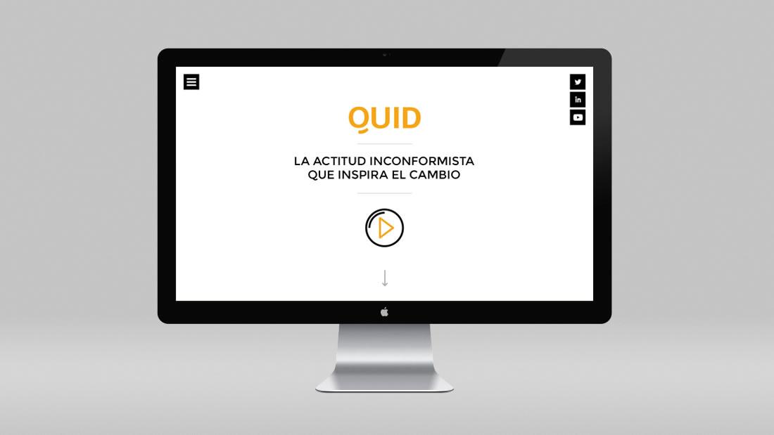 Diseño web Quid por Drool estudio creativo - 1