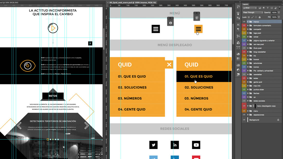 Diseño web Quid por Drool estudio creativo - 16