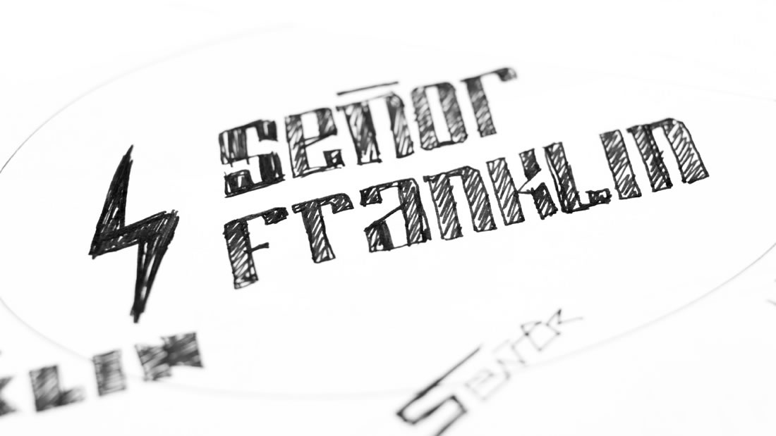 Logotipo Señor Franklin por Drool estudio creativo - 4